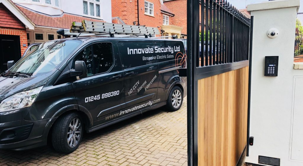 Bespoke Electric Gates - Fully Certified Security Gates | Innovate